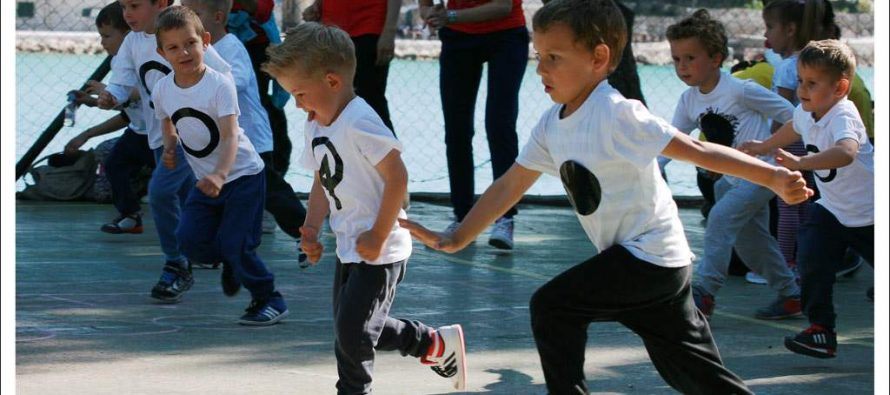 6. sportski susret dječjih vrtića Općine Primošten