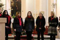 FOTO/VIDEO:Božićni koncert domaćih klapa i zborova