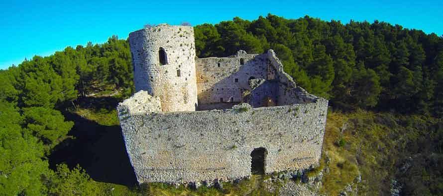 FOTO: Snimke iz zraka – Upoznajmo ljepote naše županije: Utvrda Kličevica