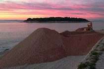 FOTO: Radovi na plaži