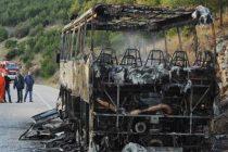 Izgorio ATP-ov autobus u Primoštenu Burnjem: Planula i okolna šuma pa se vozač nagutao dima
