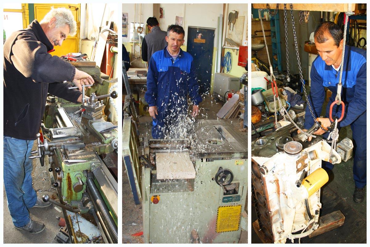 radnici kremik servisa