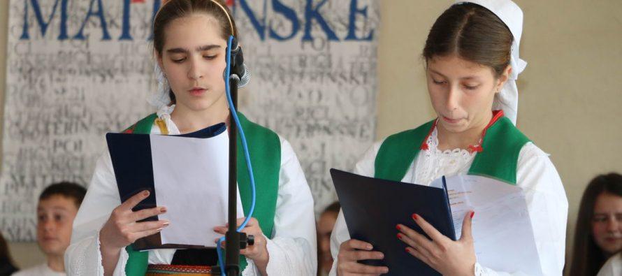 """Završna svečanost 13. literarno-likovnog natječaja """"Poj riči materinske"""""""