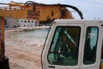 Radovi na primoštenskim plažama