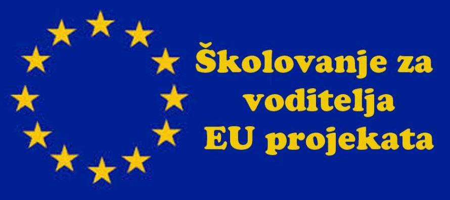Školovanje za voditelja EU projekata