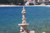 Rock balancing  umjetnost došla u Primošten