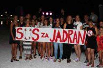 Primoštenci rekli NE bušenju nafte u Jadranu!