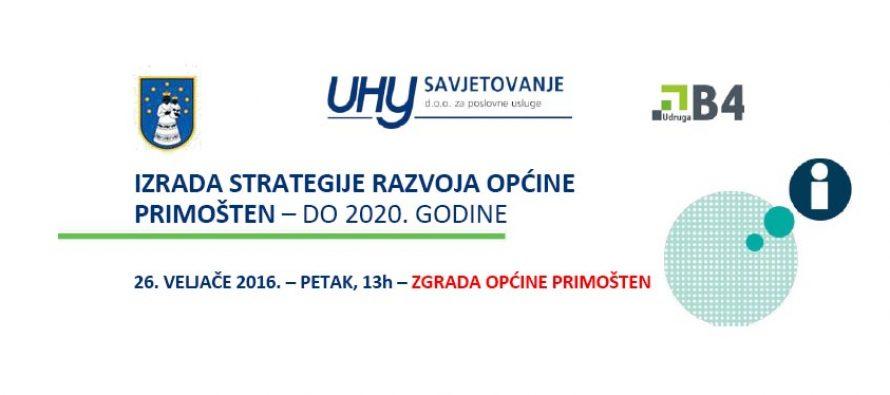 Radni sastanak – Strategija razvoja općine Primošten