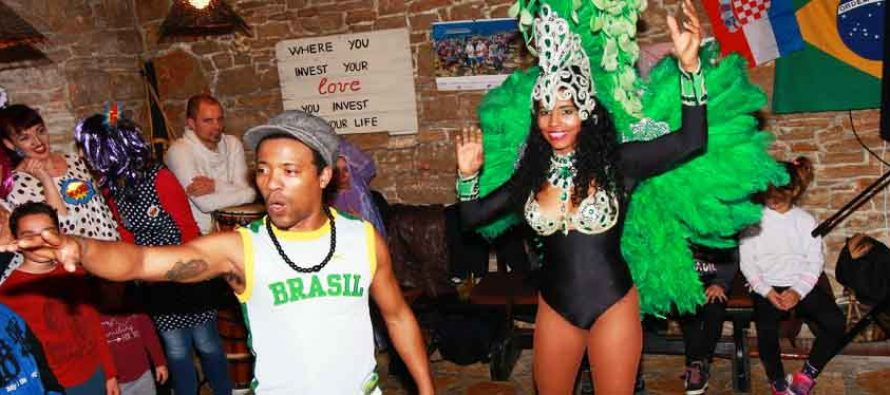 FOTO/VIDEO: Luda večer Brazila u Tereze