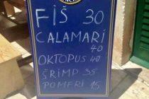 VRH UGOSTITELJSTVA: Fiš, oktopus ili šrimp? Turisti će teško odlučiti što jesti u ovom primoštenskom restoranu