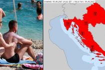 Vrijeme opasno po život, Hrvatska najtoplija u Europi