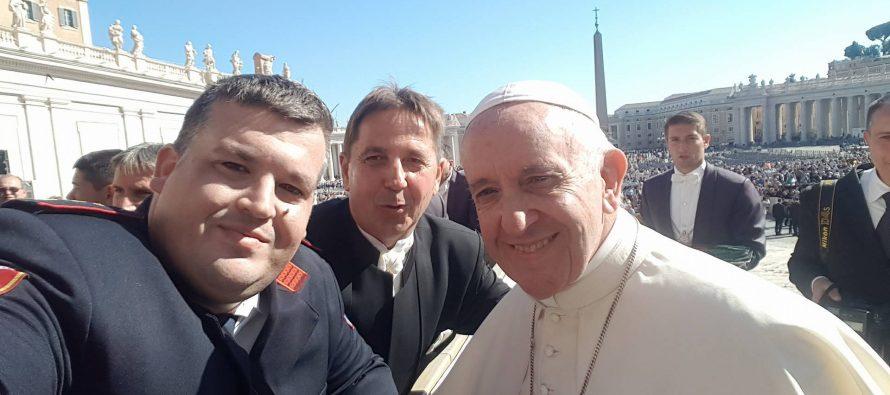 Primoštenski vatrogasci kod Papa Frane