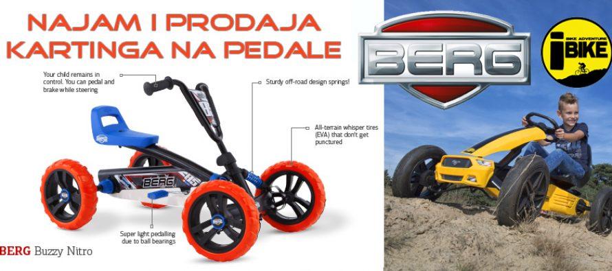 Karting na pedale – igračka za 5