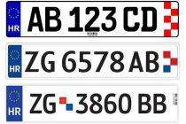 Izgubljena registarska tablica ŠI 345 FU