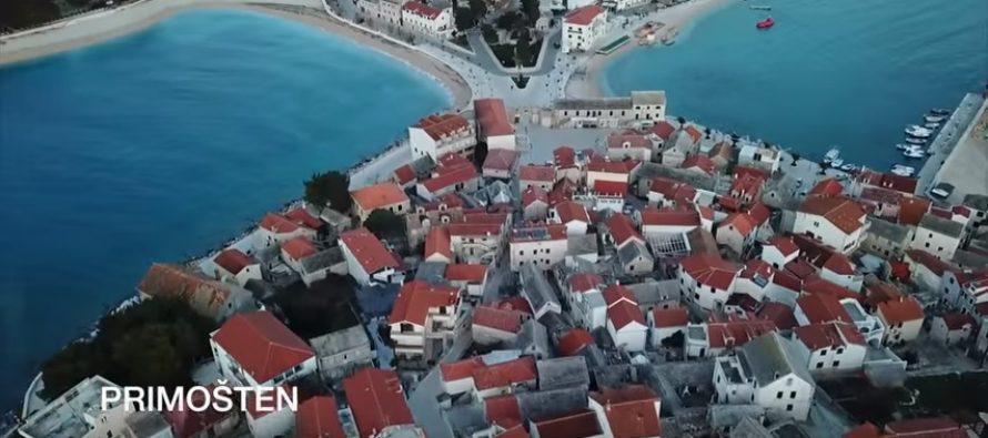 VIDEO IZ ZRAKA: Ljepote Dalmacije u zimsko doba
