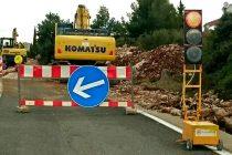 AJ ĆA, KRADU SE SADA I SEMAFORI: S gradilišta u Primoštenu ukrao dio prijenosnog semafora vrijednog par tisuća kuna