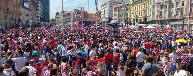 Doček VATRENIH u Zagrebu by Maja