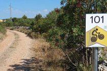 Primošten označio dvije nove staze za bicikliste