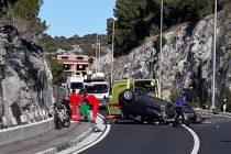 Prometna nesreća kod Podadraga -Tepli Bok