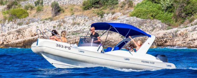 RENT A BOAT PRIMOŠTEN: Day trip island hopping – Snorkeling trip – Rent a boat with skipper